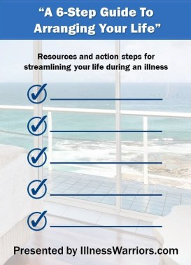 Free guide to organizing your life during an illness