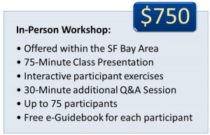 Organizing for Traumatic Illness Workshop Prices