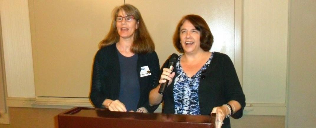 Photo of Lisa and Maureen